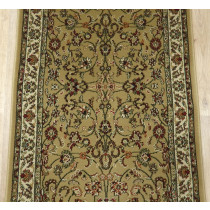 Persian Classic 2025 Gold Roll Runner Remnant 26in x 1 Ft Sold By the Foot