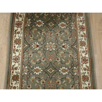 Como 1592 Sage Roll Runner Remnant 26 in x 1 Ft Sold By The Foot